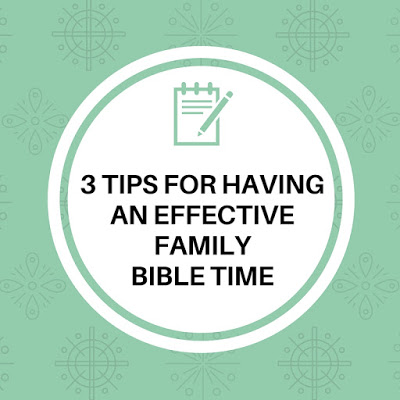 family devotions Bible time