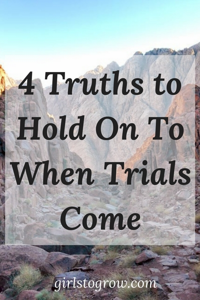 Cling to these four truths from Job when you face a trial