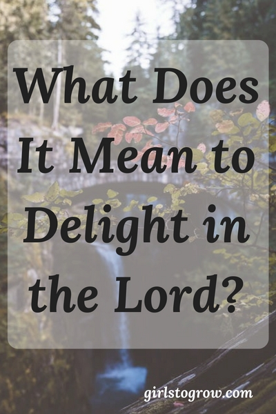 Delighting in the Lord means finding pleasure and satisfaction in God. This list of ideas can help us delight in the Lord.