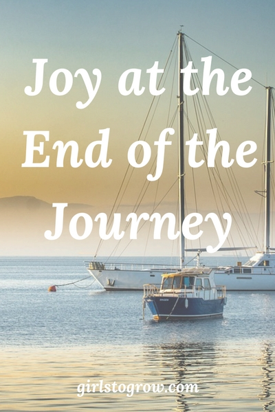 "Like Paul, let's seek to ""finish our course with joy."""