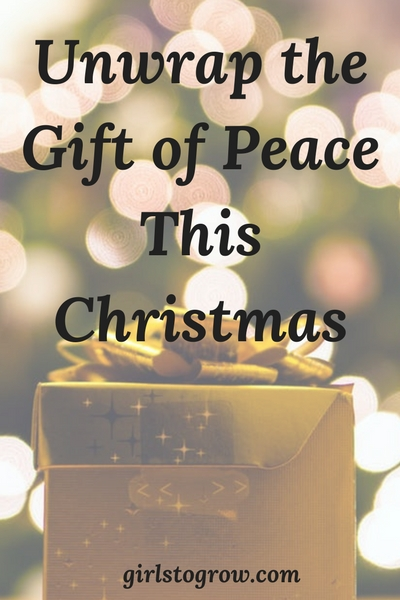 Here's three ways that peace and Christmas go hand-in-hand.