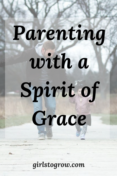 5 tips for parenting your children according to grace, not by the law.
