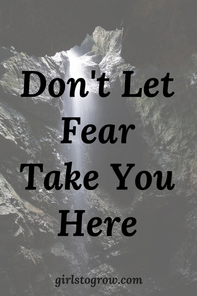 "Fear can take us lots of place we don't want to go. But God says, ""Fear not."""