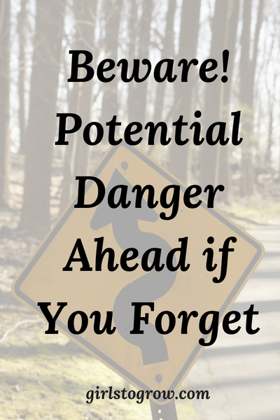 When everything's going great, we can tend to forget God. Here's a warning to heed.