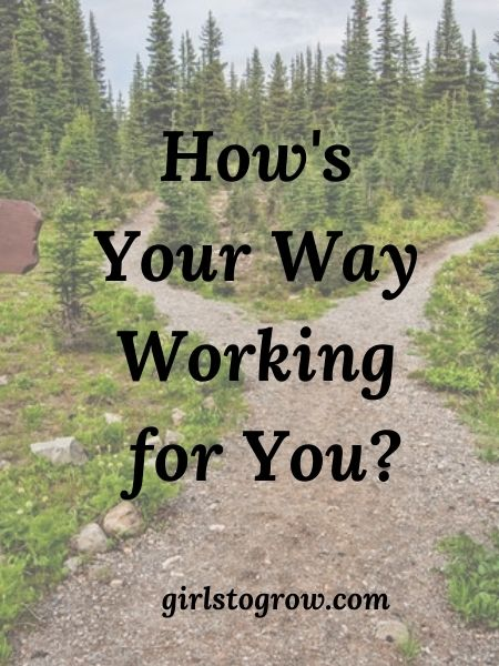 We can choose our way or God's way.  Read about the dangers and the blessings of our choice.