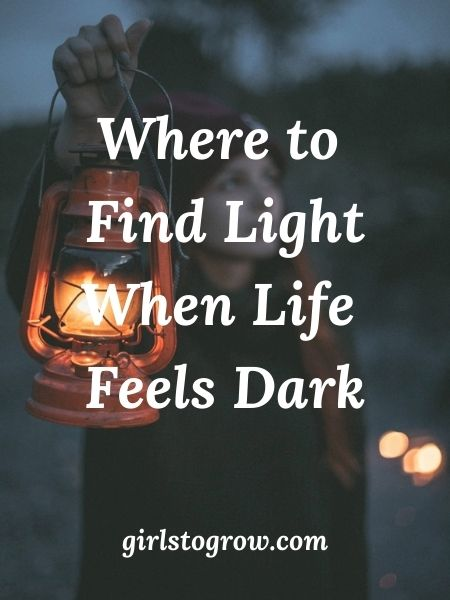 The Lord will lighten our darkness.  Check out these five things that light brings into our lives.