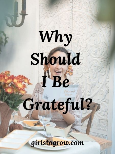 Five reasons we should live with grateful hearts